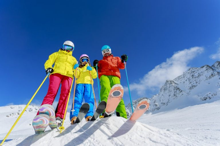 skiing concept